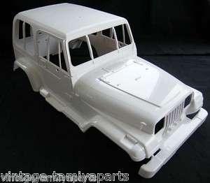 Tamiya 58141 Jeep Wrangler Body Shell 9335171 NEW