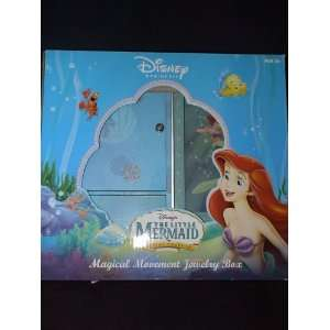 The Little Mermaid Magical Movement Jewelry Box: Home & Kitchen