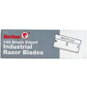 Red Devil Single Edge Razor Scraper Blades (100 Pack) 630