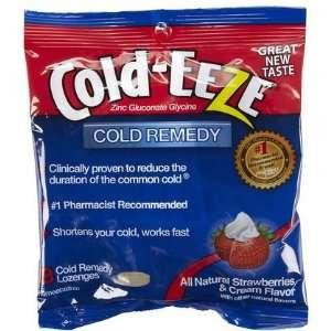 Cold EEZE Zinc Gluconate Lozenges Strawberries & Cream 3