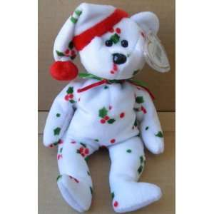 TY Beanie Babies 1998 Holiday Teddy Bear Stuffed Animal Plush
