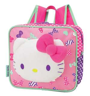 NEW SANRIO HELLO KITTY FACE PLUSH BACKPACK 2011
