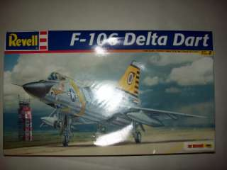 DELTA DART F 106 REVELL JET AIRCRAFT MODEL SET NEW