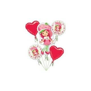 StrawBerry ShortCake Birthday Cake Edible Image Decoration