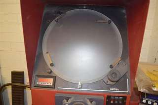 14 STARRETT HB350 Bench Top Optical Comparator with DRO.