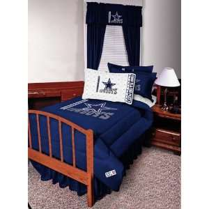 NFL Dallas Cowboys Complete Bedding Set Full Size Sports