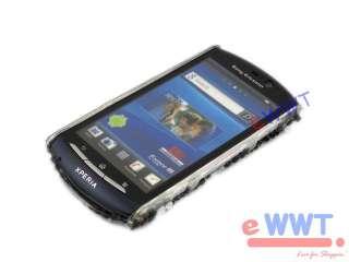 for Sony Ericsson Xperia Neo V Bling Rhinestone Cover Case * Zebra