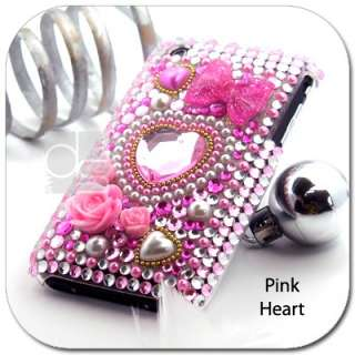 Bling Crystal Hard Cover Case Skin IPhone 3GS 3G s