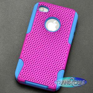 Apple iPhone 4 Phone Case Cover Skin Protector Hybrid