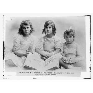 Daughters of Prince,Princess of Greece Olga,Eliy,& Marina