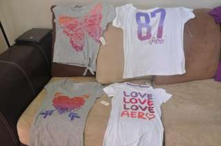 NEW AEROPOSTALE SHIRTS WOMEN TEE TOPS LOT 11pcs WHOLESALE SIZE S M L