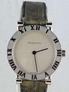 Tiffany Co Watch Atlas Lady Watch Sterling Silver MINT