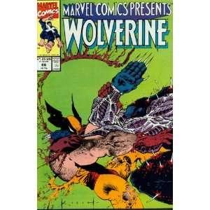 Marvel Comics Presents #86 Wolverine Books