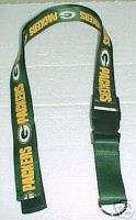 Green Bay Packers Lanyard Badge Holder BONUS NEW