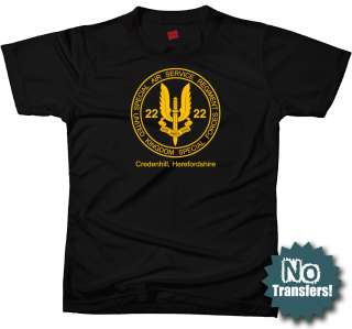 SAS #1 Special Air Service Ops Military New T shirt