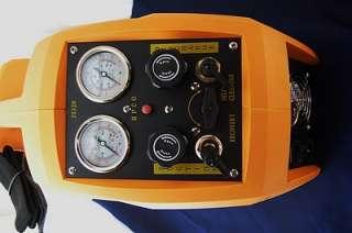 Recovery Unit, 1/2HP Twin Piston Push Pull Liquid+Gas Oil Less |