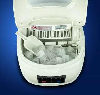 New Deluxe MTN Portable Countertop Desk Ice Cube Maker Machine 33 lbs