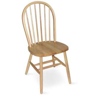 Color) Windsor Wood Spindleback Dining Room Chairs