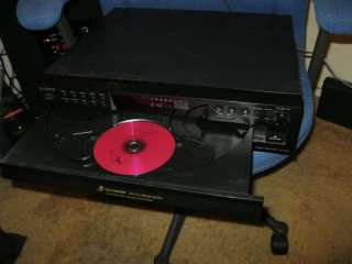NICE Sony 5 Disc CD Changer Player CDP CE275 w/ Digital Out FedxGround