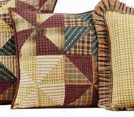 WEATHERVANE PINWHEEL WINDMILL PRIMITIVE RUSTIC 8PC QUILT BED IN A BAG
