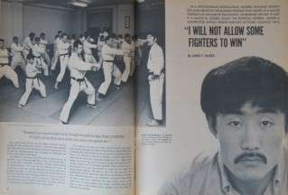 10/70 KARATE MARTIAL ARTS SHIGERU NUMANO WALLY SLOCKI