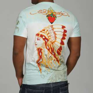 Ed Hardy Mens Graphic Print Shirt  Overstock