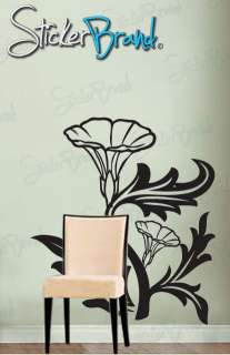 Vinyl Wall Decal Sticker Tulip Flower