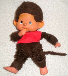 Antique Vintage Stuffed Animal Soft Toy Cute Monkey Plush 1960s Hard