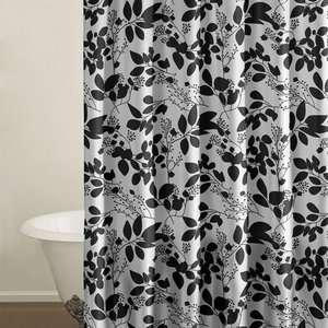 City Scene Romance Floral Shower Curtain: Bath