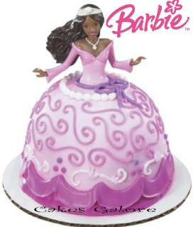 Barbie Doll AFRICAN AMERICAN Petite Signature Cake Decoration Topper