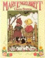 MARY ENGELBREIT Cross Stitch Book HBDC   1st Edition 0696046652