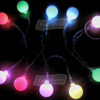 BATTERY POWER OPERATED 10 LED COLOR CHANGING LIGHTS