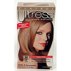 Ultress #5A Light Ash Brown Hair Color (Pack of 4)