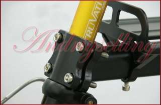 Cycling Bicycle Bike Rear Rack Panniers Fender Alloy 21