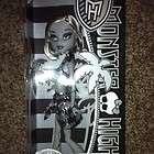 Monster High Skull Shores Doll Frankie Stein Black and