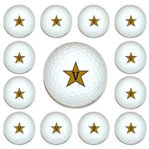 Vanderbilt Commodores Team Logo Golf Ball Dozen Pack