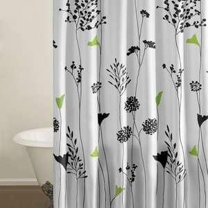 City Scene Asian Lily Shower Curtain: Bath