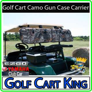 Camo Gun Case Carrier EZGO, Club Car, Yamaha Golf Cart