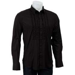 French Connection Mens Tuxedo Front Shirt