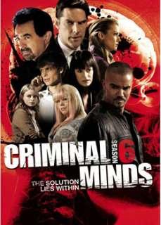 Criminal Minds Season 6 (DVD)