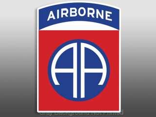 82nd Airborne Sticker   window decal Fort Bragg logo 82