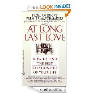 At Long Last Love: Sage Advice and True Stories from Americas Premier