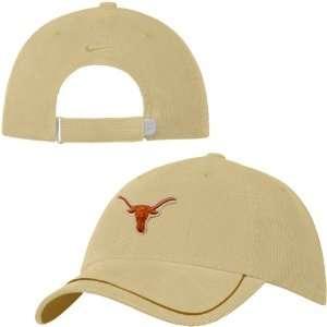 Texas Longhorns Natural Ladies Washed Corduroy Hat