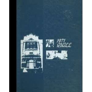 White Reprint) 1971 Yearbook Enid High School, Enid, Oklahoma Enid