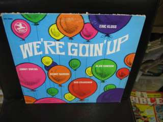 Eric Kloss Were Goin Up vinyl LP Jimmy Owens STEREO