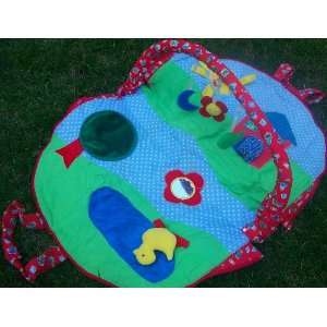 Pack and Go, Baby Play Mat, on the Go Baby Activity Center