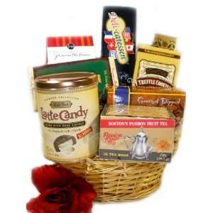 Thinking of you Gift Basket   Small   Valentines Day Gift Basket