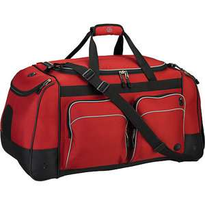 Duffle Bag, Extra Large Duffle Bag, Red Duffle Bag, Travel Duffle Bag