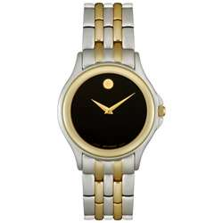 Two tone Stainless Steel and 18k Gold Mens Watch