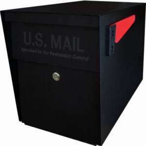 HD STEEL SECURITY LOCKING ANTI THEFT CURBSIDE MAILBOX